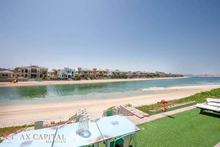 4 Bedroom Villa for Sale in Palm Jumeirah, Dubai - Beach Access | Fully Furnished | Private Pool
