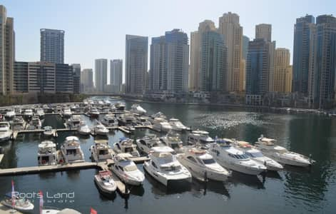 2 Bedroom Apartment for Rent in Dubai Marina, Dubai - Bright with breath taking waterfront View apartment
