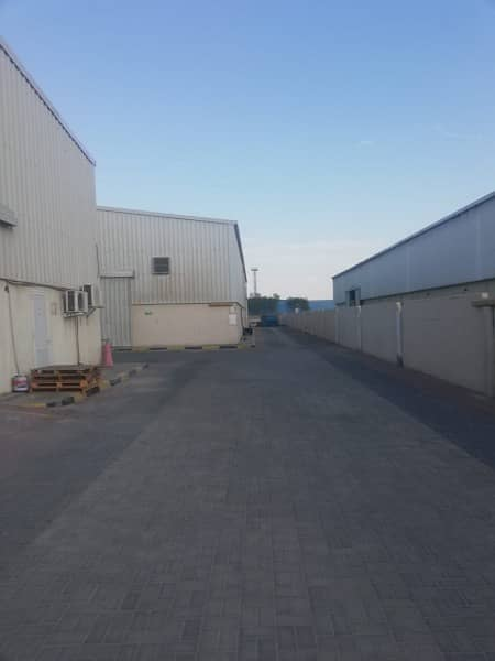 Spacious Warehouse In Mussafah Available For Rent