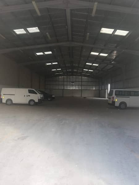 2 Spacious Warehouse In Mussafah Available For Rent