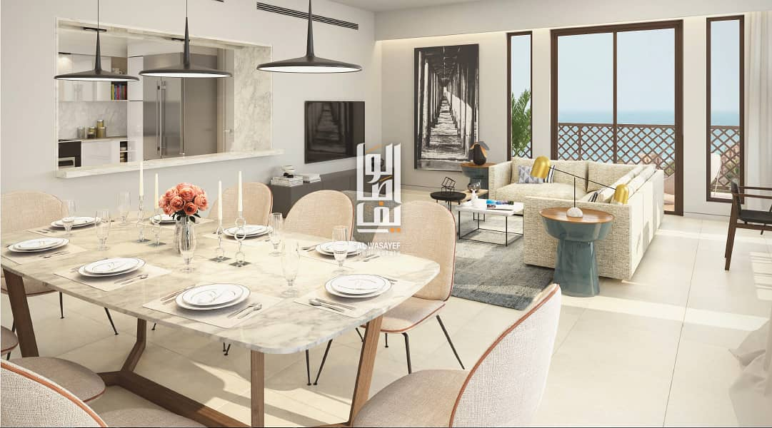 2 Burj AlArab View|Comfort Living|5%Booking
