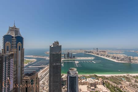 4 Bedroom Penthouse for Rent in Dubai Marina, Dubai - Luxurious Duplex Apt | Maids Room | Spacious