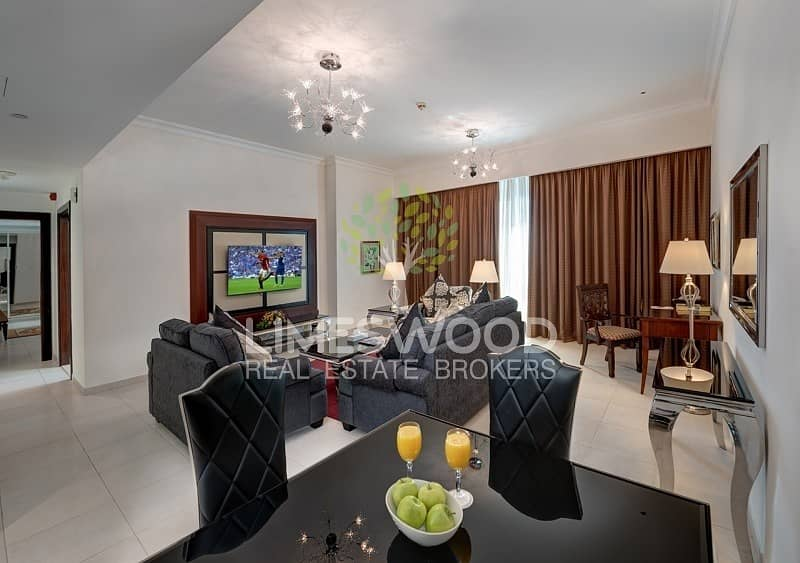 2 Deluxe 1 Bedroom Serviced Apartments Near to Metro