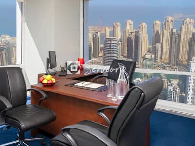 Office for Rent in Jumeirah Lake Towers (JLT), Dubai - Stunning Private Offices in JLT (DMCC License)
