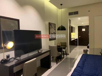استوديو  للايجار في الخليج التجاري، دبي - Prestigious Fully Furnished Studio in Majestine Tower