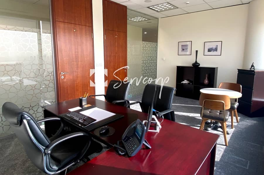 Private Offices with  magnificent views of Burj Khalifa in Downtown