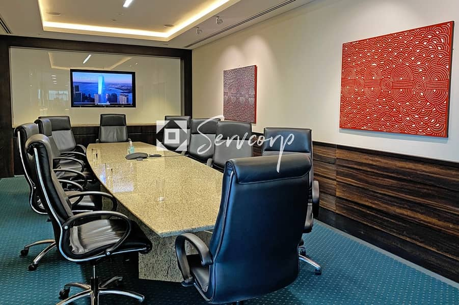 2 Private Offices with  magnificent views of Burj Khalifa in Downtown