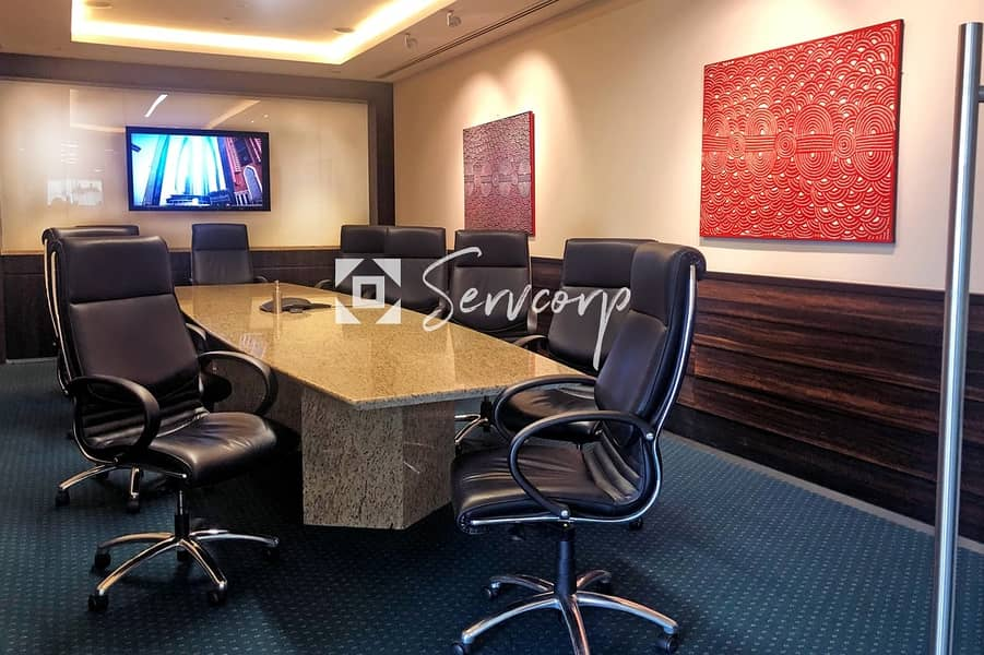 2 Magnificent private offices in Boulevard Plaza