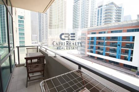 1 Bedroom Flat for Rent in Dubai Marina, Dubai - Low Floor l Type 07 l Road View l Al Majara 2