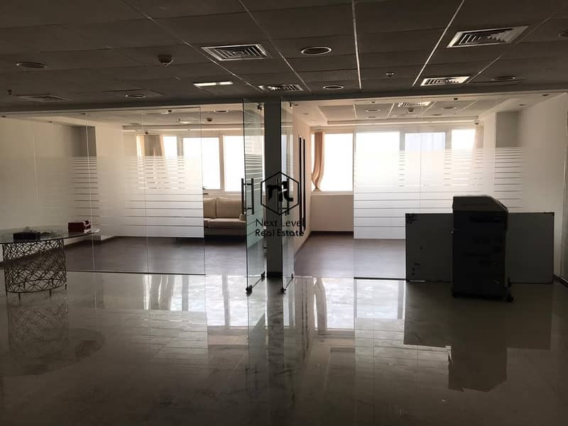 2 Ready to move in Office  with excellent fit outs & two glass cabins
