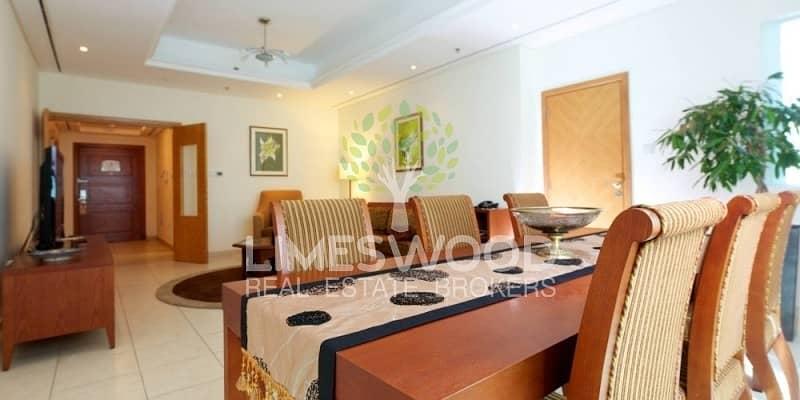 Spacious 2Br plus Maid's Hotel Apartment in Marina