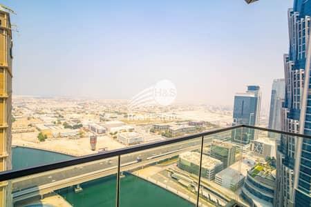 شقة 2 غرفة نوم للايجار في الخليج التجاري، دبي - Canal View I 2 Beds + Laundry I Al Habtoor City