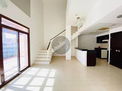 1 Bedroom Flat for Rent in Jumeirah Village Circle (JVC), Dubai - AMAZING POOL VIEW | DUPLEX | MASSIVE BALCONY