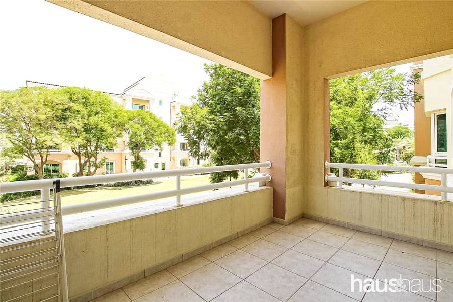 2 First Floor Garden View | Furnished 1 Bed