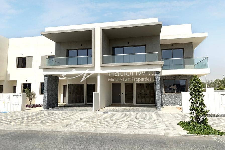 Sophisticated Type Y 3 BR Villa with Great Facilities In Yas Acres