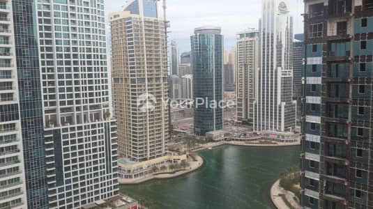 2 Bedroom Flat for Rent in Jumeirah Lake Towers (JLT), Dubai - 2 Bedroom With 2 Balconies -  Full Lake View