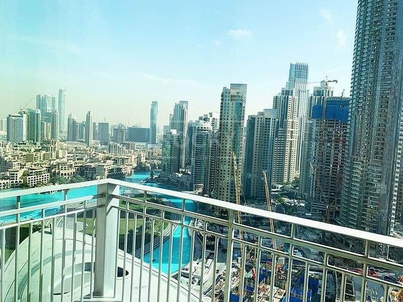 10 High Floor | 3-Bed | Burj Khalifa View