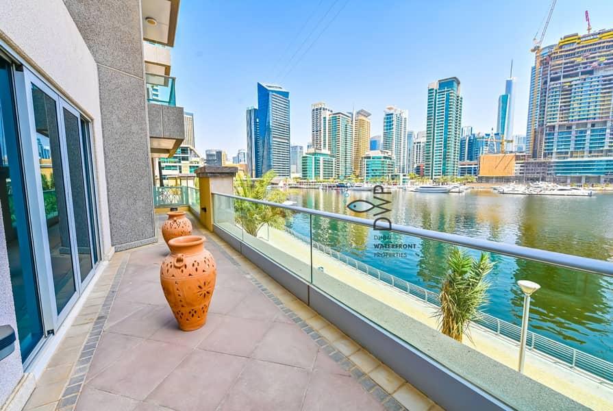 Stunning 1BR Villa in Marina Promenade  100% Full Marina Facing  1250 Sq.Ft UNIT EV02  Full 5* Maintenance Package Incl.