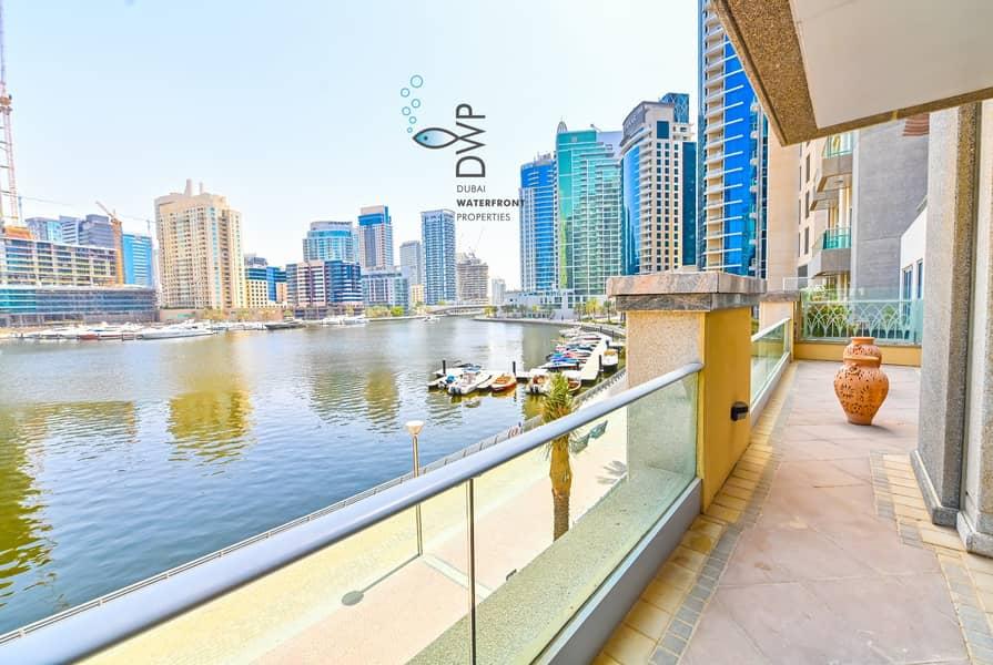 2 Stunning 1BR Villa in Marina Promenade  100% Full Marina Facing  1250 Sq.Ft UNIT EV02  Full 5* Maintenance Package Incl.