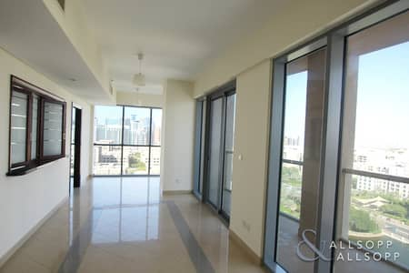 فلیٹ 1 غرفة نوم للايجار في ذا فيوز، دبي - 1 Bed | Study | Panoramic View | AC Free