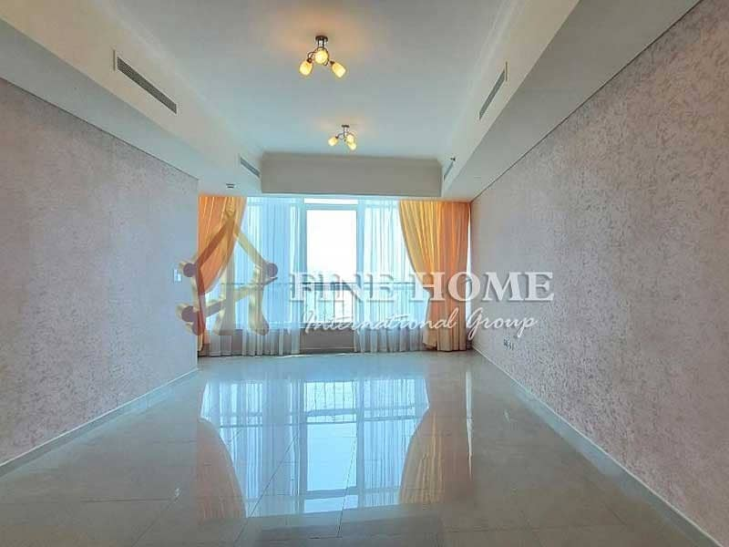 2 Huge 2BR+1BR Apartment with Sea & Pool View