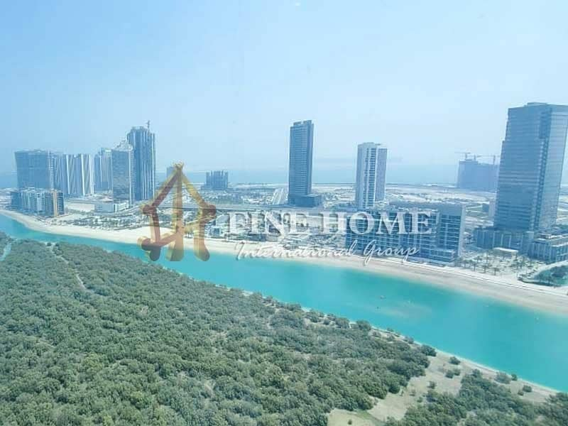 20 Huge 2BR+1BR Apartment with Sea & Pool View