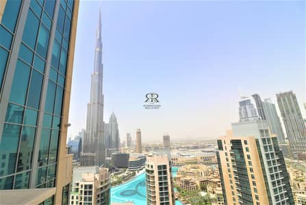 Burj Khalifa and Fountain Views I Furnished 1 Bedroom