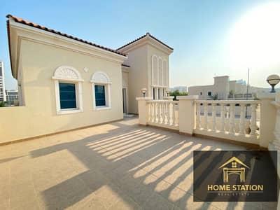 2 Bedroom Villa for Rent in Jumeirah Village Circle (JVC), Dubai - Independent Corner villa big garden 2bhk with maidroom