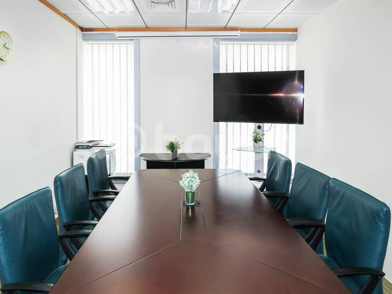 Virtual Office with access to meeting rooms . .