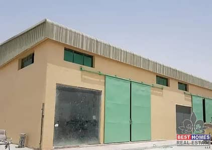Warehouse for rent with mezzanine floor, 2500 sq ft in Al Jurf