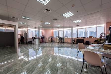 مکتب  للبيع في أبراج بحيرات الجميرا، دبي - Fitted | Marble Floor| Vacant | Corner Unit