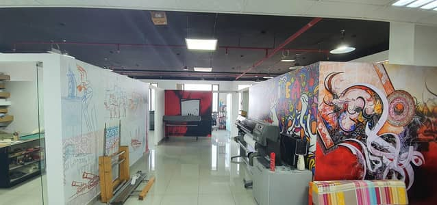 Office for Sale in Jumeirah Village Circle (JVC), Dubai - Fitted office with Two Car parking for sale