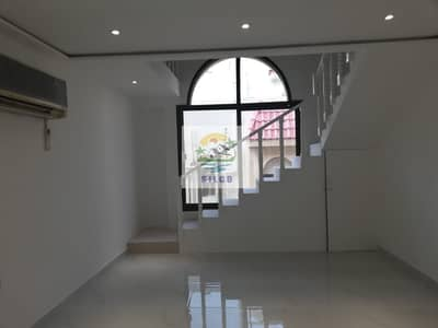 1 Bedroom Flat for Rent in Airport Street, Abu Dhabi - 1st floor duplex inc. water & electricity