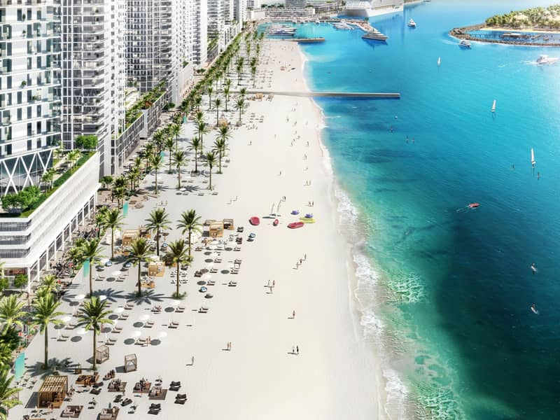 Private Beachfront Living ~ 3 years Post Handover