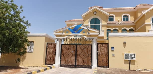 6 Bedroom Villa for Rent in Mohammed Bin Zayed City, Abu Dhabi - Separate 6 Master bedrooms with pool at MBZ