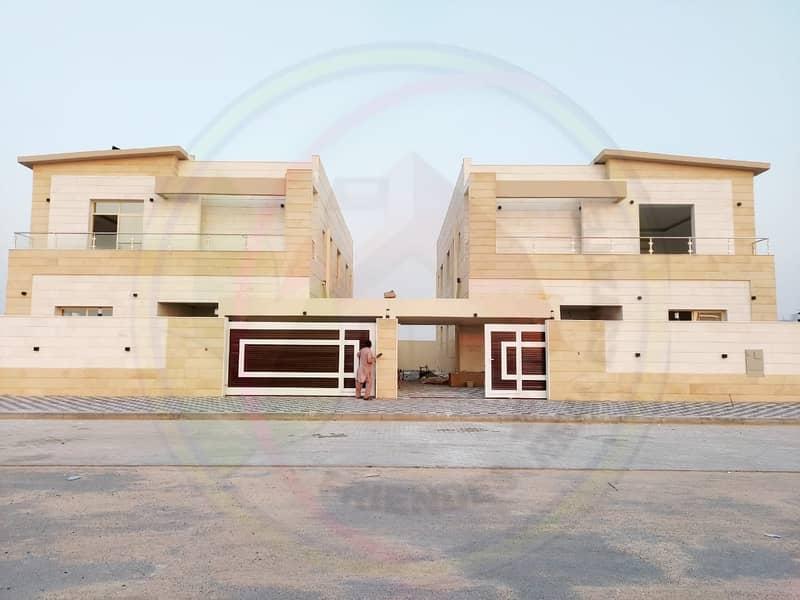 New villa for sale  in Ajman emirate finishing and distinctive pric. . . . . .