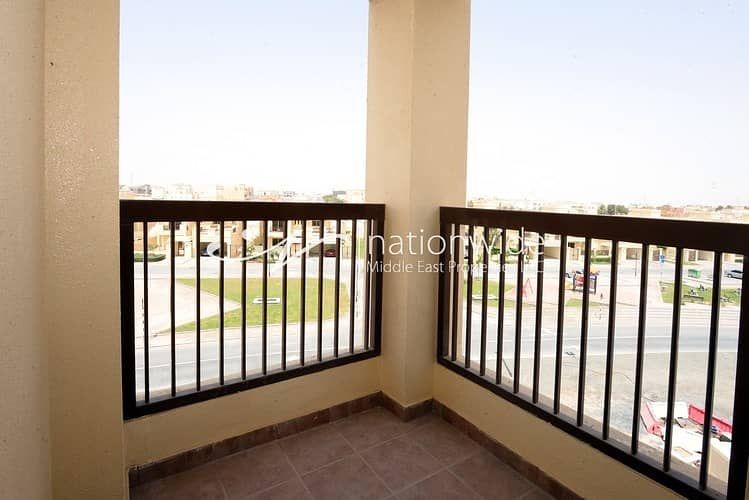 13 Vacant! Enthralling 2 BR Apartment In Bani Yas