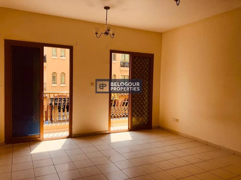VACANT 2 BEDS WITH LARGE BALCONY FOR SALE IN SPAIN CLUSTER