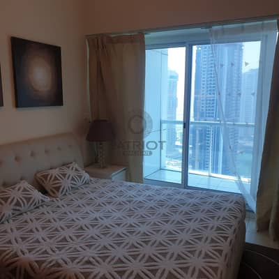 1 Bedroom Flat for Rent in Jumeirah Lake Towers (JLT), Dubai - Fully Furnished one bedroom apartment in Lake Terrace Cluster D