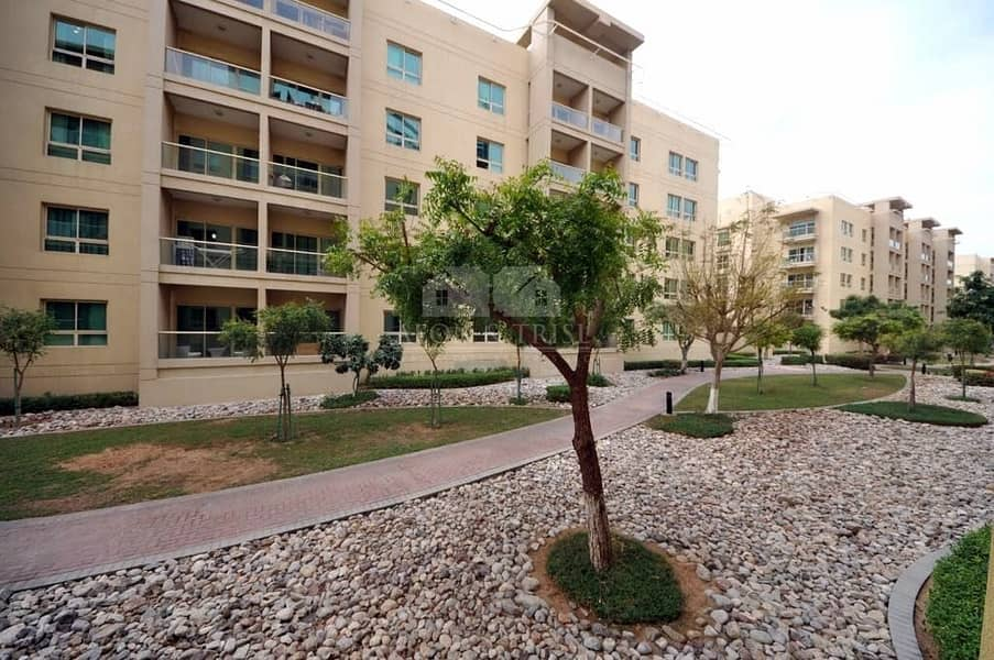 12 Double window 1BR in  Arta I Pool and Garden  view