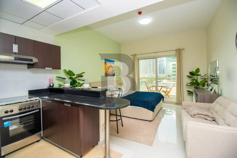 2 Golf view I Studio | BCC approved