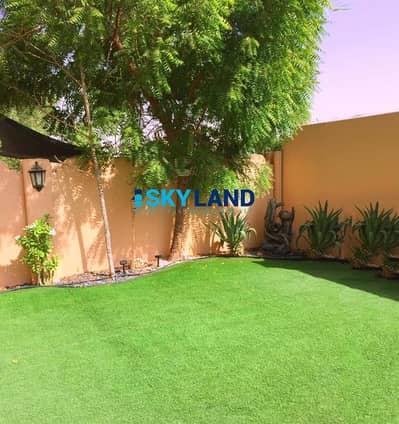 فیلا 4 غرف نوم للبيع في الريف، أبوظبي - Single Row 4-Bed+Study w/ Huge Private Garden!