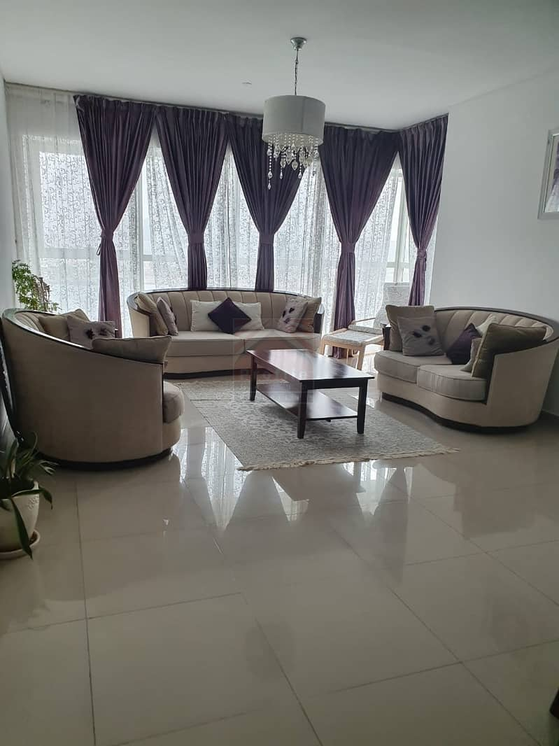 2 Majestic Sea View with Balcony 3BR+M Apartment