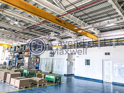 1000kW | Production Facility with 3 Gantry Cranes