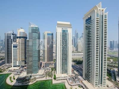 شقة 1 غرفة نوم للايجار في أبراج بحيرات الجميرا، دبي - Vacant | Balcony | Unfurnished | Full Lake View