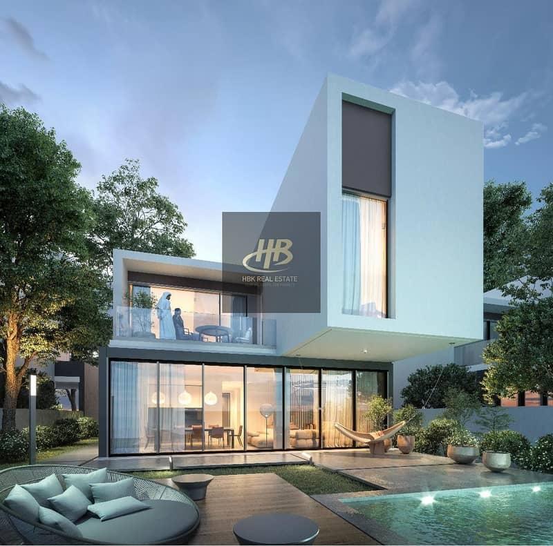 2 bedroom villa at aljada heart of sharjah