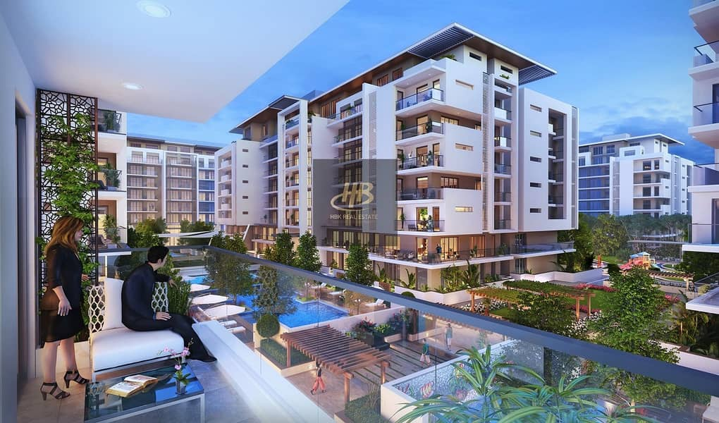 Ready to move one bedrooms apartment in MBR city