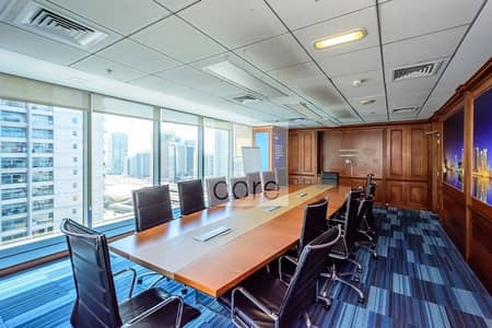 Office for Rent in Jumeirah Lake Towers (JLT), Dubai - Fitted and Furnished Office | Prime  Location