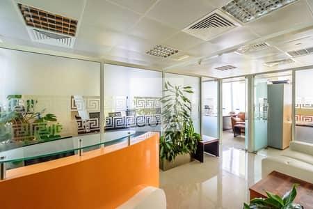 مکتب  للايجار في أبراج بحيرات الجميرا، دبي - Fitted Office | Competitive Rate | High floor