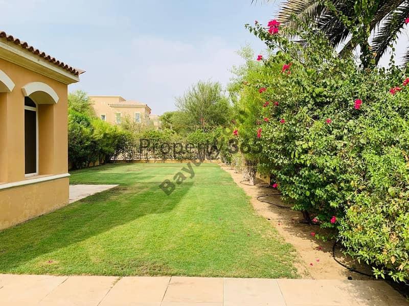 Single Row | 3BR | Lake View | Quick move | Huge  garden